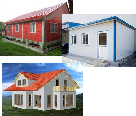 Safe houses-After the earthquake, prefabricated houses enjoying ...